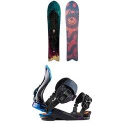 Rossignol XV Sushi LF Light Snowboard + Diva Snowboard Bindings - Women's 2021