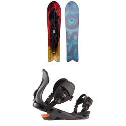 Rossignol XV Sushi LF Snowboard + Cobra Snowboard Bindings 2021