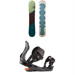 Rossignol Templar Snowboard + Cobra Snowboard Bindings 2021