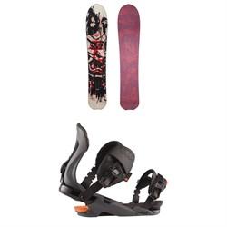 Rossignol XV Sashimi LG Snowboard + Cobra Snowboard Bindings 2021