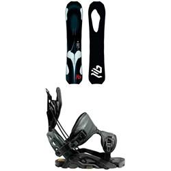 Lib Tech T.Rice Orca Snowboard + Flow Fuse-GT Fusion Snowboard Bindings