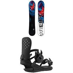 Lib Tech Dynamo C3 Snowboard + Union Strata Snowboard Bindings