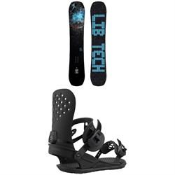 Lib Tech Box Knife C3 Snowboard + Union Strata Snowboard Bindings