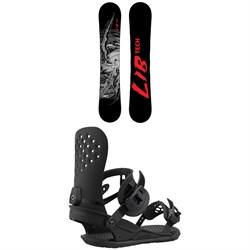 Lib Tech TRS C3 Snowboard + Union Strata Snowboard Bindings