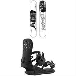 Lib Tech Austen Sweetin Skate Banana BTX Snowboard - Blem + Union Strata Snowboard Bindings
