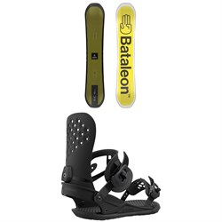 Bataleon Whatever Snowboard ​+ Union Strata Snowboard Bindings 2021