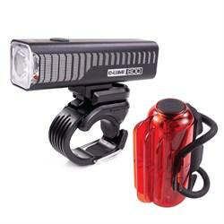 Serfas E-Lume 600 / Cosmo 60 Bike Light Set