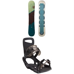 Rossignol Templar Snowboard + Rome Slice SE Snowboard Bindings 2021