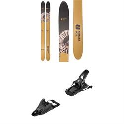Armada Whitewalker Skis + Shift MNC 13 Alpine Touring Ski Bindings  - Used