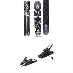 Armada ARW 116 VJJ UL Skis + Atomic Shift MNC 10 Alpine Touring Ski Bindings - Women's  - Used
