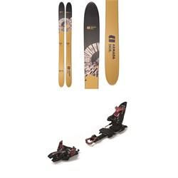 Armada Whitewalker Skis + Marker Kingpin 13 Alpine Touring Ski Bindings  - Used