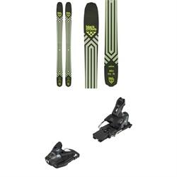 Black Crows Anima Skis + Salomon STH2 WTR 13 Ski Bindings 2021 - Used