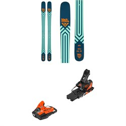 Black Crows Atris Skis + Salomon STH2 WTR 13 Ski Bindings 2021 - Used