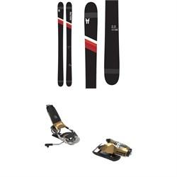 Faction Candide 2.0 Skis + Look Pivot 15 GW Ski Bindings 2021 - Used