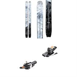 Moment Deathwish Tour Skis + Fritschi Tecton 12 Alpine Touring Ski Bindings 2021 - Used