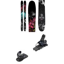 Icelantic Nia 105 Skis + Salomon Warden MNC 13 Ski Bindings - Women's 2021 - Used