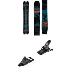 Moment Wildcat Tour Skis + Armada Shift MNC 13 Alpine Touring Ski Bindings 2021 - Used