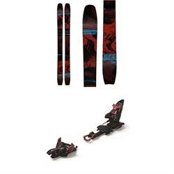 Moment Wildcat Tour 108 Skis + Marker Kingpin 13 Alpine Touring Ski Bindings 2021 - Used