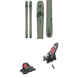 Salomon QST 106 Skis + Marker Griffon 13 ID Ski Bindings 2021 - Used
