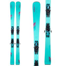 Elan Wildcat 76 Skis + ELW 9.0 GW Bindings - Women's 2022