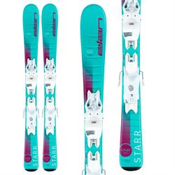 Elan Starr QS Skis + EL 4.5 GW Shift Bindings - Little Girls' 2022