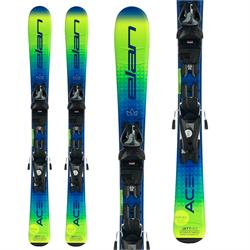 Elan Jett QS Skis + EL 7.5 GW Shift Bindings - Boys' 2022