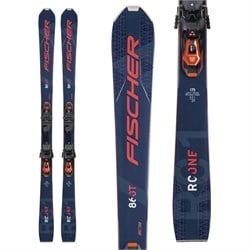 Fischer RC One 86 GT Skis + RSW 12 GW Powerrail Bindings 2021