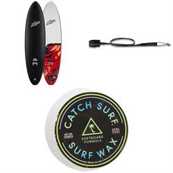 Catch Surf Odysea x Lost Crowd Killer 7'2 Surfboard + Dakine Kainui Team 7' Leash + Catch Surf Surf Wax