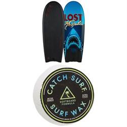 Catch Surf Beater Original 54 - Lost Edition 6 Surfboard + Catch Surf Surf Wax