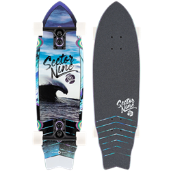 Sector 9 Wavepark Shadow Cruiser Skateboard Complete
