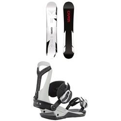 CAPiTA MEGA Mercury Snowboard + Union Falcor Snowboard Bindings 2022