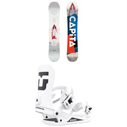 CAPiTA Defenders of Awesome Snowboard + Union Strata Snowboard Bindings 2022