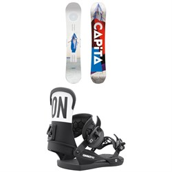 CAPiTA Defenders of Awesome Snowboard + Union Contact Pro Snowboard Bindings 2022