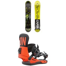 CAPiTA Outerspace Living Snowboard + Union Contact Pro Snowboard Bindings 2022