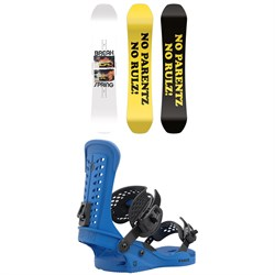 CAPiTA Spring Break Powder Twin Snowboard + Union Force Snowboard Bindings 2022