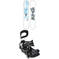 GNU B-Nice BTX Snowboard + Bent Metal Metta Snowboard Bindings - Women's 2022