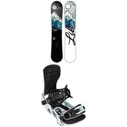 Lib Tech Cortado C2 Snowboard + Bent Metal Stylist Snowboard Bindings - Women's 2022