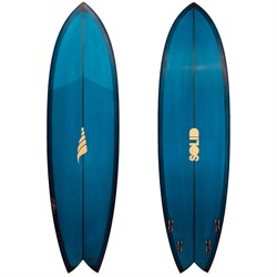 Solid Surf Co Pescador PU FCSII Surfboard