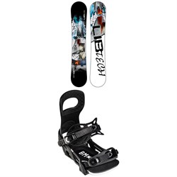 Lib Tech Skate Banana BTX Snowboard 2022 + Bent Metal Bolt Snowboard Bindings 2022
