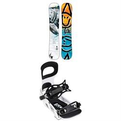 Lib Tech Box Scratcher BTX Snowboard 2022 + Bent Metal Bolt Snowboard Bindings 2022
