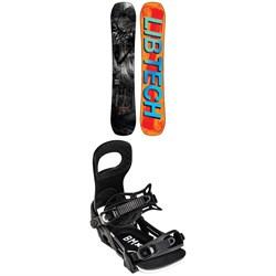 Lib Tech Box Knife C3 Snowboard 2022 + Bent Metal Bolt Snowboard Bindings 2022