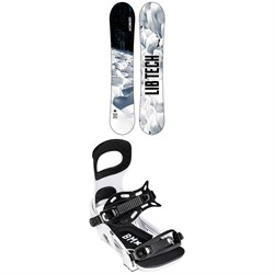 Lib Tech Cold Brew C2 Snowboard 2022 + Bent Metal Bolt Snowboard Bindings 2022