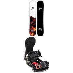 Lib Tech Lost Quiver Killer C3 Snowboard 2022 + Bent Metal Transfer Snowboard Bindings 2022