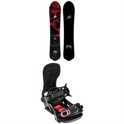 Lib Tech Lost Mayhem Rocket C3 Snowboard 2022 + Bent Metal Transfer Snowboard Bindings 2022