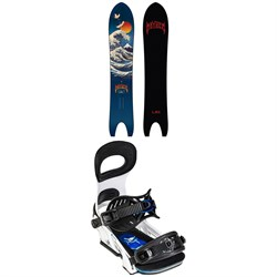 Lib Tech Lost Retro Ripper C3 Snowboard 2022 + Bent Metal Transfer Snowboard Bindings 2022