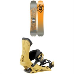 Nitro Mountain Snowboard 2022 + Nitro Team Snowboard Bindings 2022