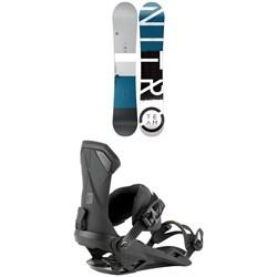 Nitro Team Snowboard 2022 + Nitro Team Snowboard Bindings 2022