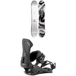 Nitro Santoku Snowboard 2022 + Nitro Team Snowboard Bindings 2022