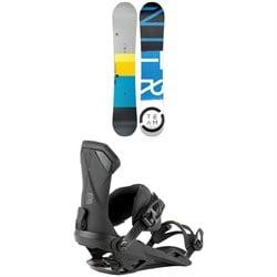 Nitro Team Gullwing Snowboard 2022 + Nitro Team Snowboard Bindings 2022