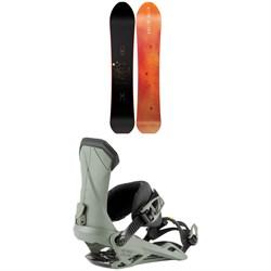 Nitro The Quiver Fusion Snowboard 2022 + Nitro Team Snowboard Bindings 2022